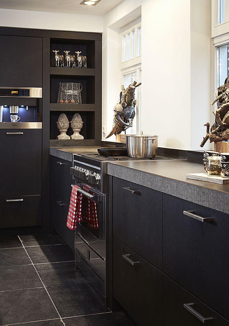 Kleur en sfeer keuken en boorden, niet t blad en vloer