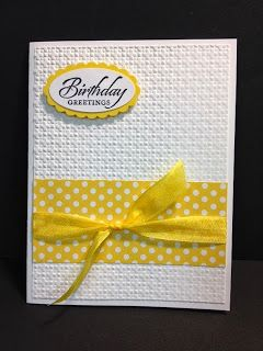 A Simply Sketched Birthday Stampin' Up! Rubber Stamping Handmade Cards