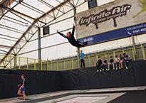 Kat Driscoll trampoline routine