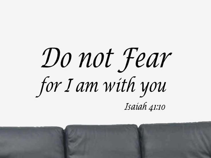 No Fear Bible Quotes A...