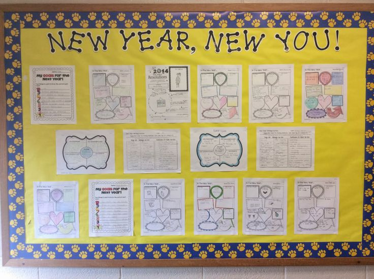 Calendar Bulletin Board Ideas Middle School : Middle school bulletin boards new year s