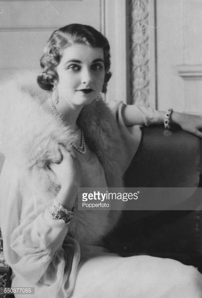 Portrait of American heiress to the Woolworth estate, Barbara Hutton (1912-1979), circa 1935.
