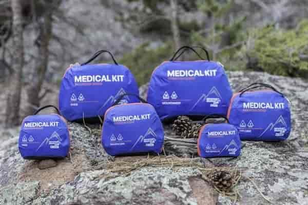 Новые аптечки для альпинизма AMK Mountain Series