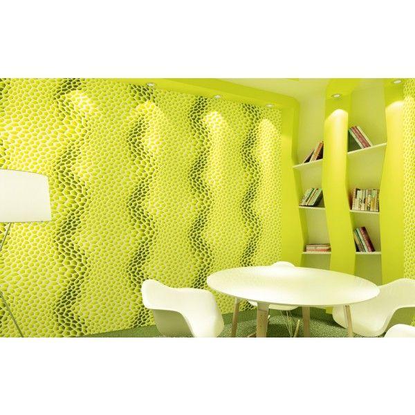 Papier peint Essaim d'abeille ver - collection Overdrive de Montecolino : Papier peint chambre, Cuisine, entrée, pièce à vivre, Salle de bain à motifs