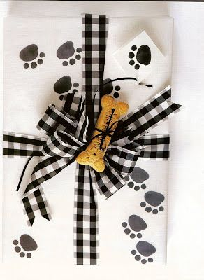 Presentations: A Passion for Gift Wrapping - Southern Hospitality | Southern Hospitality (pet gift wrap idea)