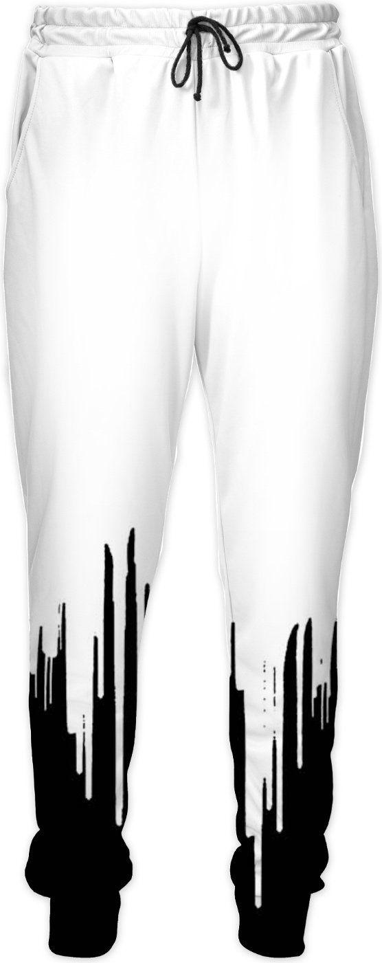Black & White Joggers