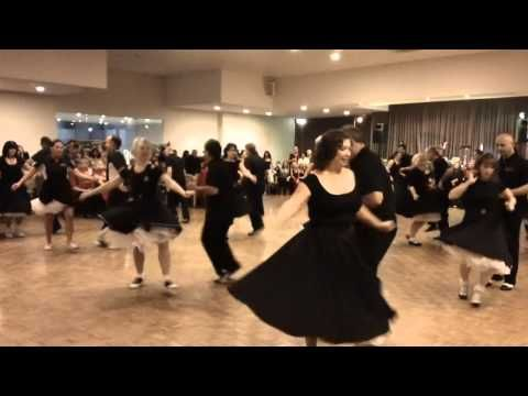 Alleycatz Dance Demo - Lt Maria's Rock & Roll Dance (16/7/11) - YouTube