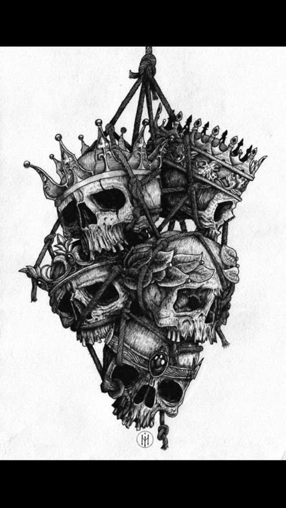 Evil crown drawing - photo#12