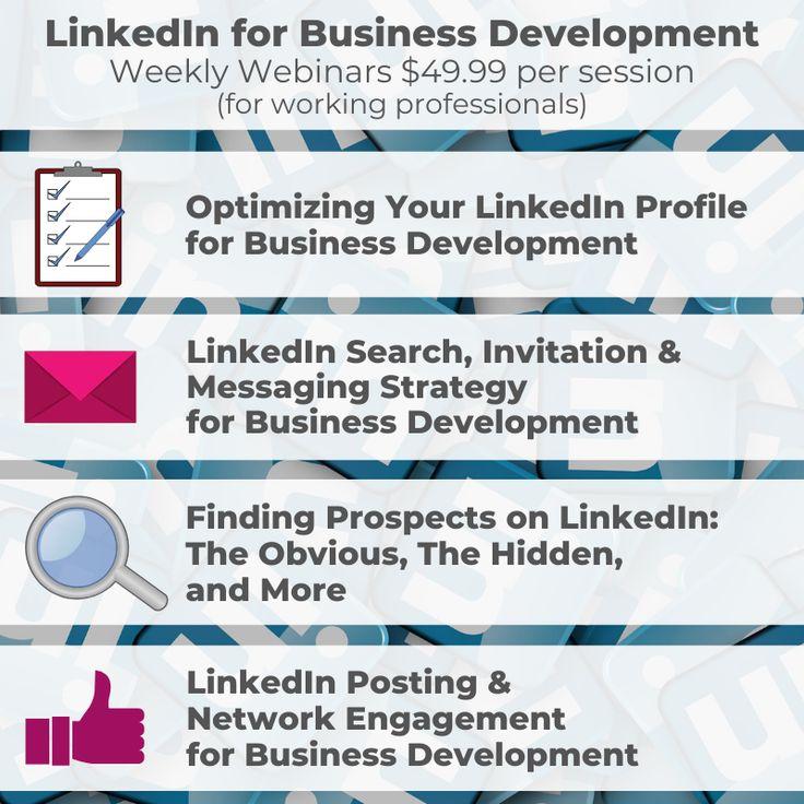 LinkedIn Webinars, LIVE interviews, and more in