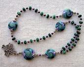 Protestant Malachite Rosary