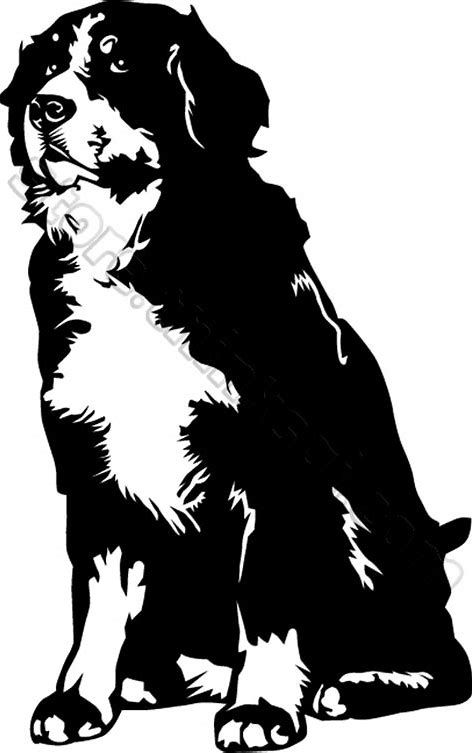 Image Result For Bernese Mountain Dog Silhouette Bernsky