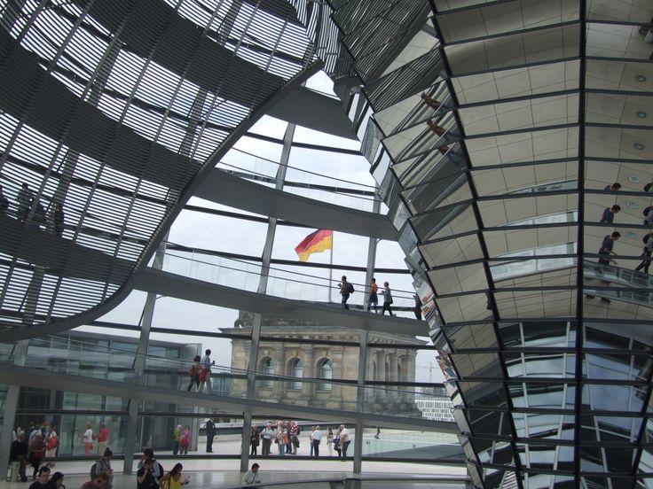 #Reichstagskuppel #Berlin