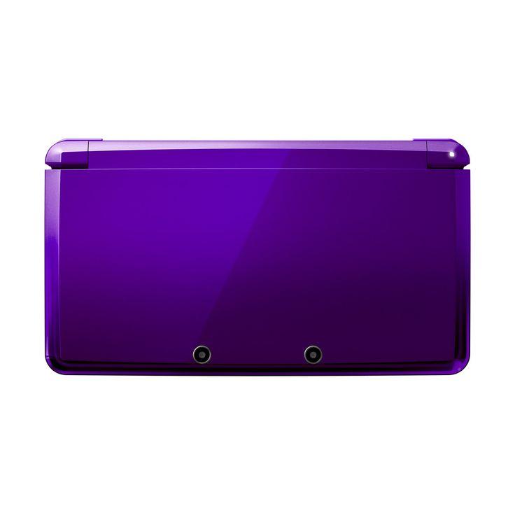 Purple 3DS | Nintendo 3DS Midnight Purple — Sapporo Games