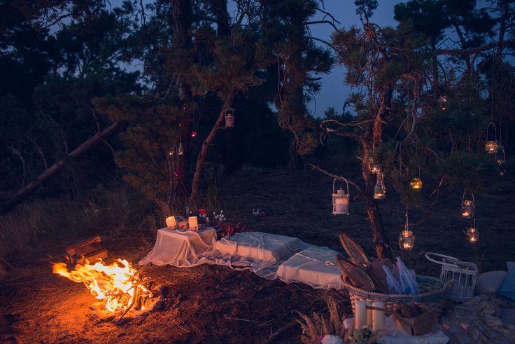 Ужин на краю неба — Make my day — агентство необычных праздников