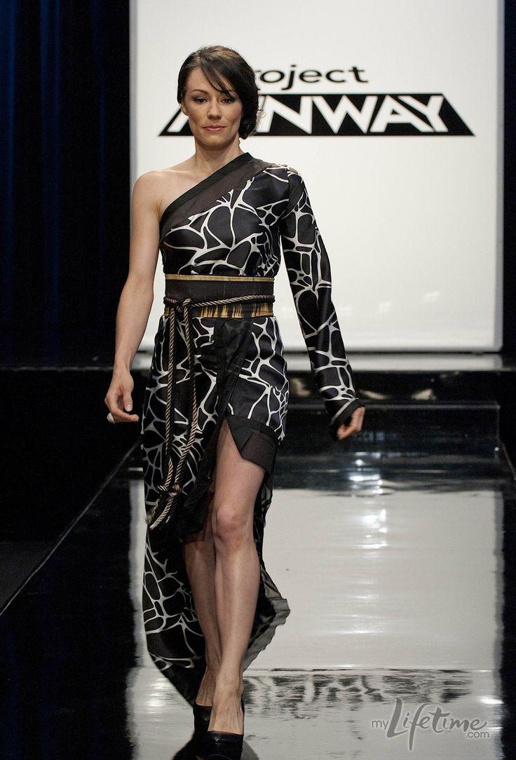 different kimono Anya Ayoung-Chee's runway design