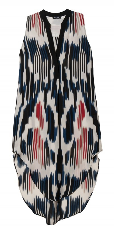 Ikat top...perfect with skinnies...