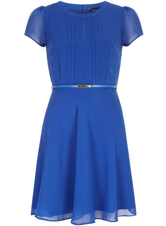 Cobalt fit and flare dress - View All Dresses - Dresses