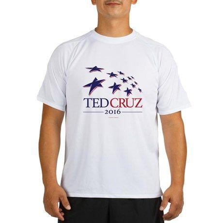 I love this Ted Cruz President 2016 Performance Dry T-Shirt