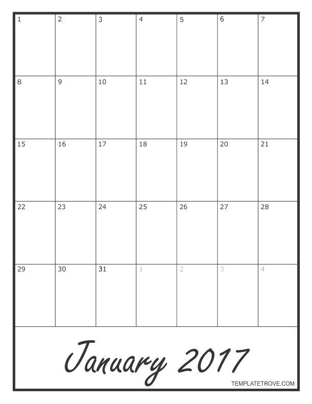 25+ ideias exclusivas de Blank monthly calendar template no - blank calendar templates