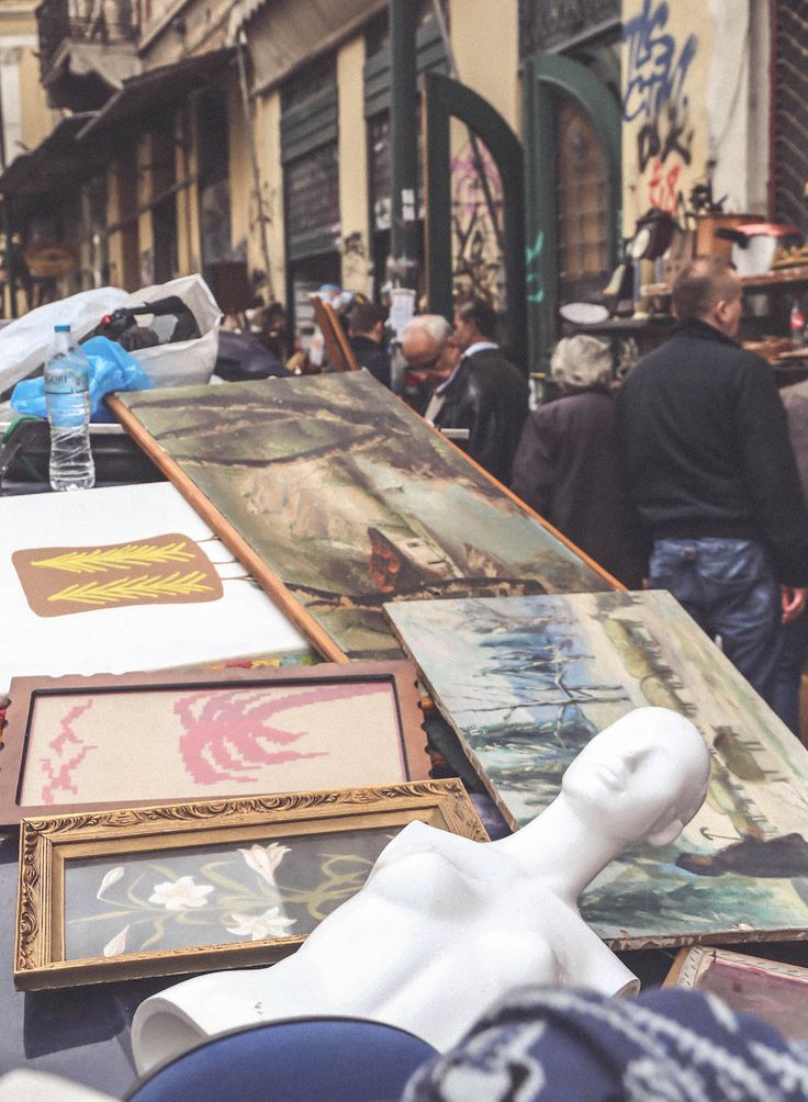Monastiraki Athens city guide flea market travel blogger