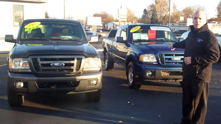 2007 and 2010 Ford Rangers for Sale