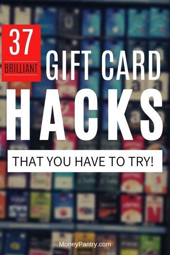 37 Brilliant Gift Card Hacks You Need to Try (Works on Visa, Amazon, Store Cards & More)