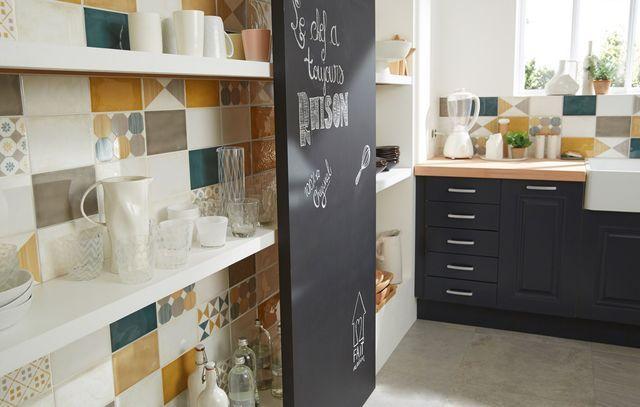 Cuisine castorama pas cher nouveaux meubles et for Carrelage mural cuisine pas cher