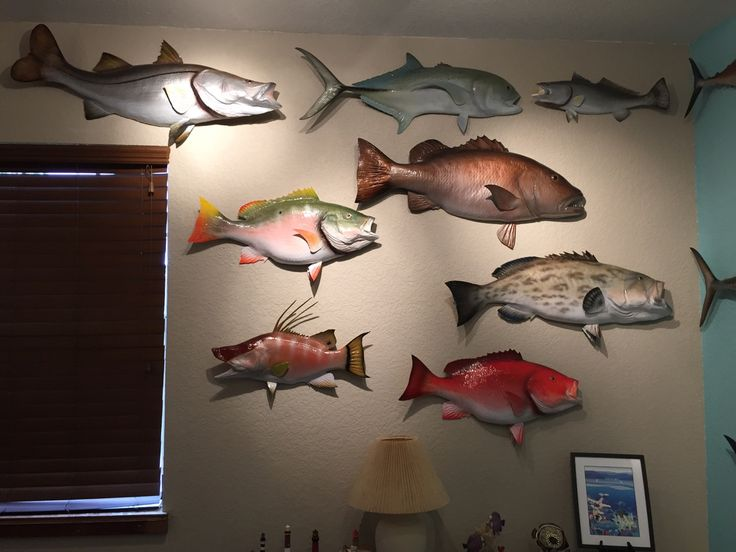 21 best man cave decor ideas images on pinterest man for Fishing decor for man cave