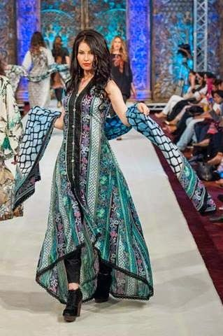 Summer Wear Lawn Collection For Girls By Bashir Ahmad From 2014