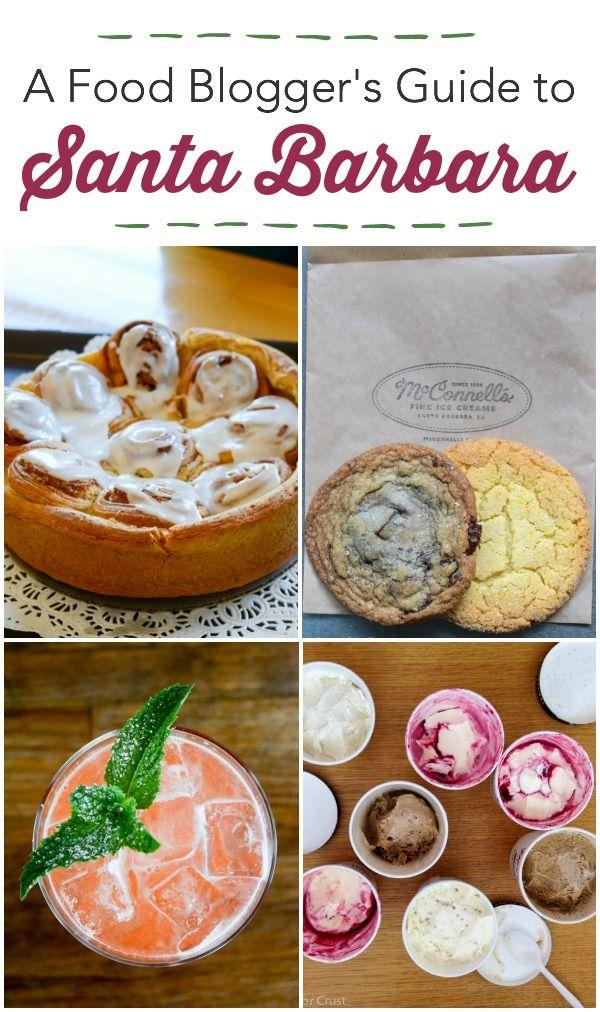 Food Blogger's Guide to Santa Barbara - where to eat and what to see in Santa Barbara, Solvang, and Santa Ynez.