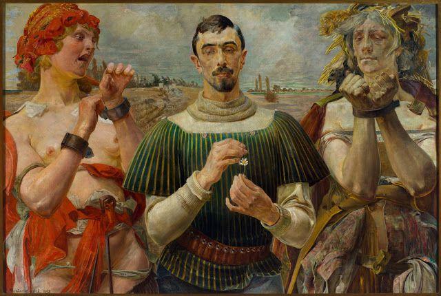 Jacek Malczewski (1854-1929), Hamlet polonais - 1903