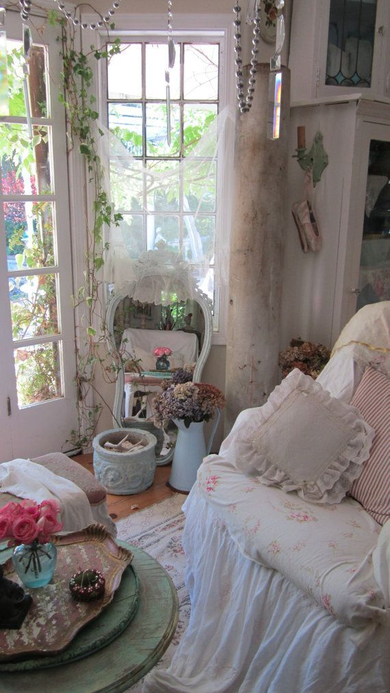 Magical Home Inspirations... Boho shabby chic mix, just ...