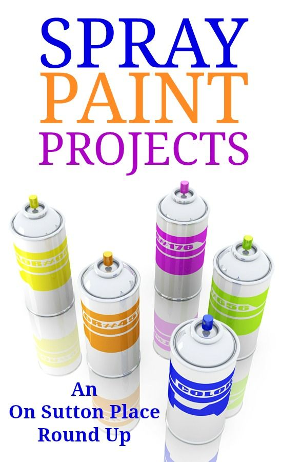 1000 ideas about spray paint crafts on pinterest for Spray paint ideas