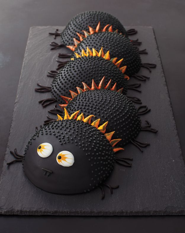 Spooky Centipede Cake is for weirdos (er, advanced palate people) who love black licorice.