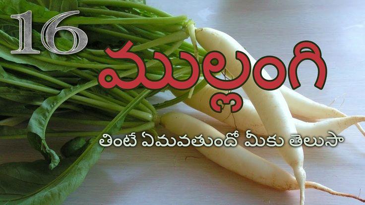 ముల్లంగి తినడం వల్ల ప్రయోజనలేంటి? | Telugu Facts 16th Video