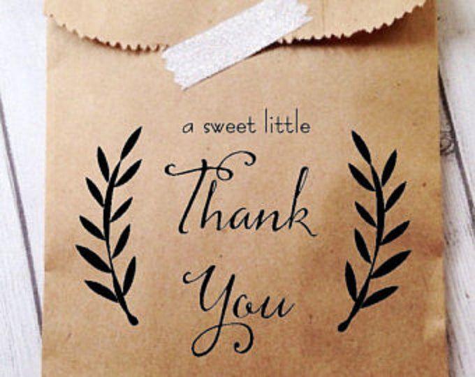 Hochzeitsgeschenke Cookie Taschen – Candy Buffet Säcke – Hochzeits Recycling – 25 Papier Taschen – Kraftpapier – personalisierte bedruckte Tasche