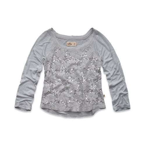 Girls Woods Cove Top-hollister