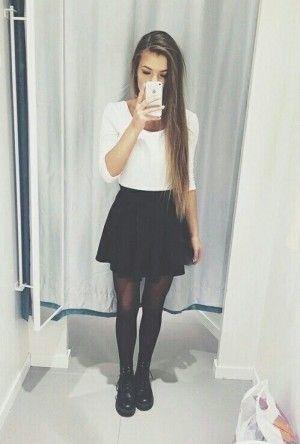 skater dress black