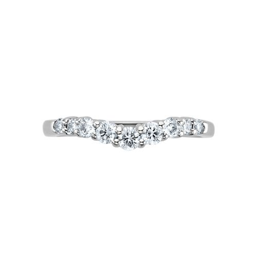 New Fred Meyer Jewelers ct tw Diamond Solitaire Ring Wrap