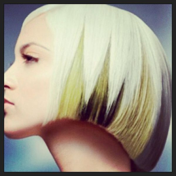 Extra Short Bob with Pony Excellent hairstyles for women with short and straight hair