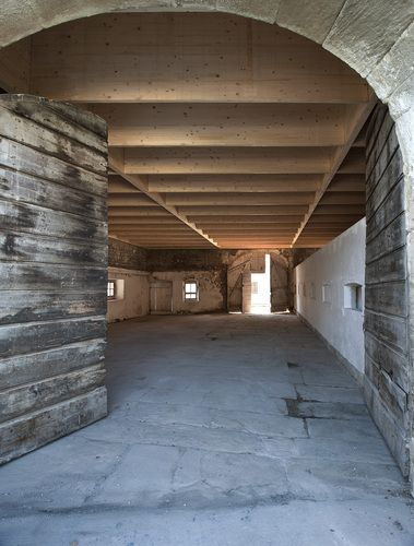 Studio in an Agricultural Building, Landecy, Switzerland by Charles Pictet: just my kind of studio...