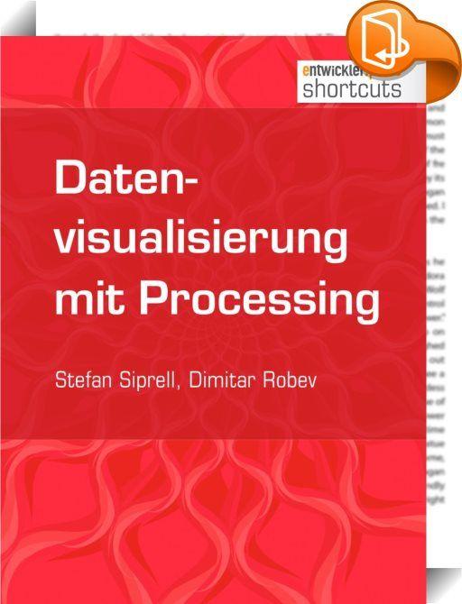 Datenvisualisierung mit Processing    ::  Processing ist eine auf Java basierende Open-Source-Programmiersprache samt Entwicklungsumgebung. Im ersten Kapitel dieses shortcut werden Grundlagen und Ursprünge dieses Visual-Java-Tools erläutert und ein paar Fingerübungen mit der 2-D-Engine gemacht. Im Anschluss daran verdeutlicht das zweite Kapitel, was Processing im 3-D-Bereich zu bieten hat, so z.B. das Versehen von Körpern mit Texturen sowie das Einbinden von Bibliotheken. Ziel der folg...
