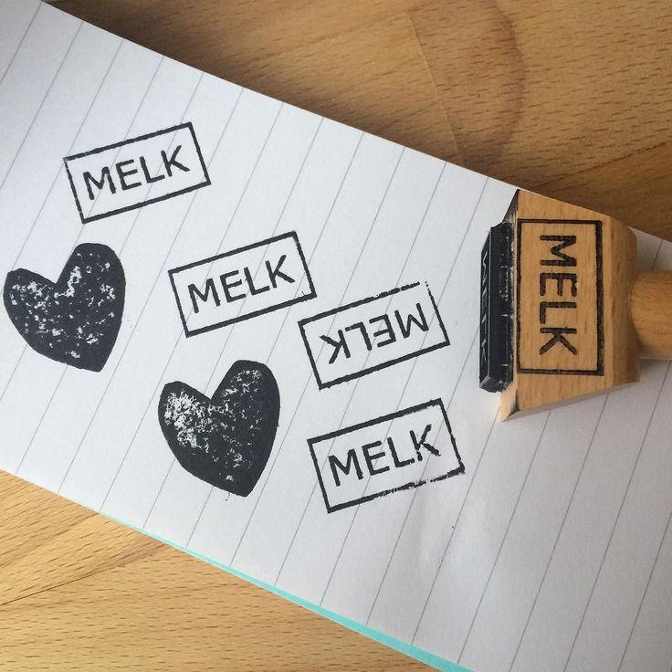 Ik hou van melk. En van puur. En van zondagmiddag al stempelend doorbrengen! #melk #stempel #stamp #knutselen #tip #diy #creatief #miep #chocolade #anderechocolade #chocoladeverzekering