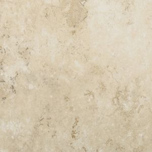 "Tarkett Premiere GroutFit Tile Durango Bone Hushed Conversations- 16""x16"" Vinyl floors, bathroom floors, laundry room floor, utility room, basement floors, flooring ideas, lake house, beach house, vinyl tile, stone look floors, waterproof floors, dog friendly, kid friendly, cream tile, light tile"