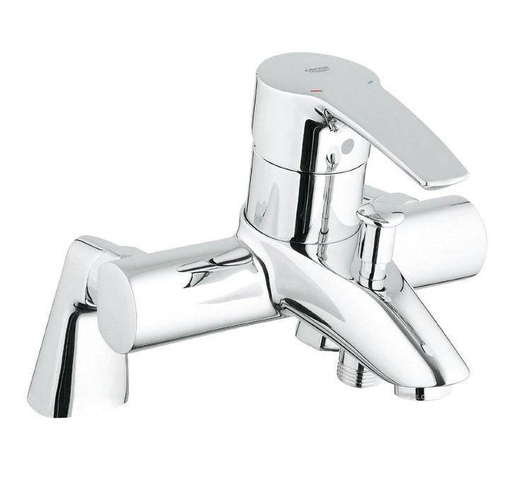 GROHE Eurostyle 33612001 Смеситель на борт ванны.    http://www.santehmag.ru/category/smesiteli-grohe-eurostyle/    GROHE Eurostyle - Коллекция смесителей для ванной комнаты.