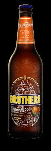 Brothers Toffee Apple Cider - celebrating Nat'l Apple Cider Day - November 18