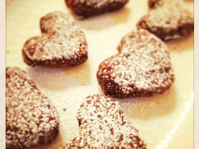 バレンタイン♡本命ガルボ風チョコクッキーの画像