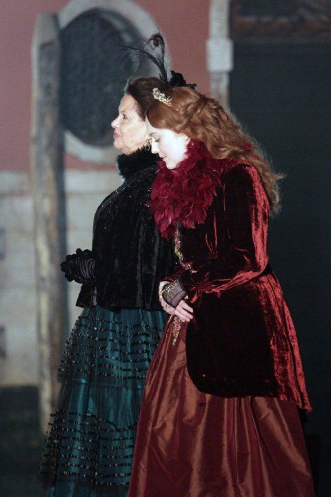Effie Gray (2014) Dakota Fanning and Claudia Cardinale #IMDb #CostumeDesign: Ruth Myers