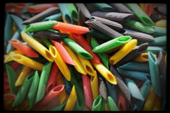 How To Make Colored Noodles