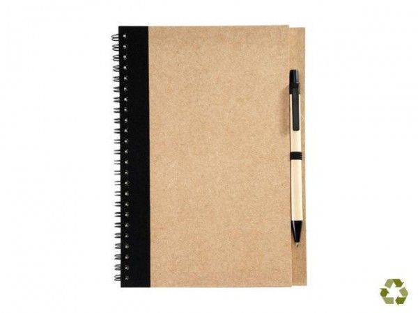 A5 Eco Notebook and Pen#EcoNotebook